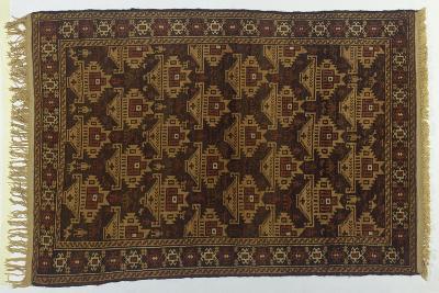 Rugs and Carpets: Afghanistan - Sistan Balouchi Carpet--Giclee Print