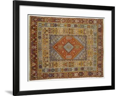 Rugs and Carpets: Africa - Morocco - Carpet--Framed Giclee Print