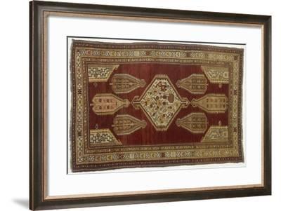Rugs and Carpets: Azerbaijan - Shikli Carpet--Framed Giclee Print