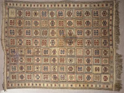 Rugs and Carpets: Azerbaijan - Woollen Kilim Carpet--Giclee Print