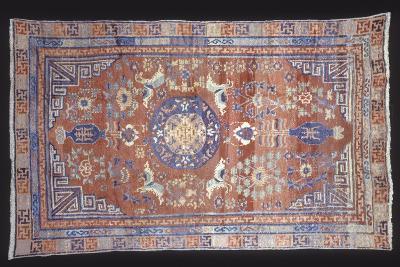 Rugs and Carpets: China - Ganshu Carpet--Giclee Print