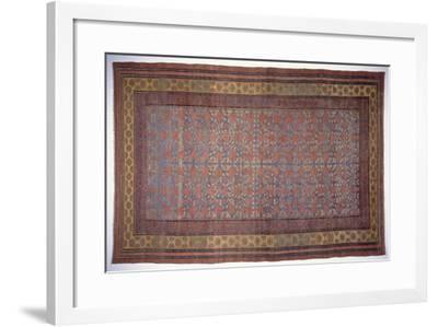 Rugs and Carpets: China - Yarkand Carpet--Framed Giclee Print