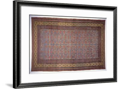 Rugs and Carpets: China - Yarkand Carpet--Framed Giclee Print