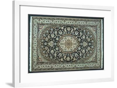 Rugs and Carpets: Iran - Nain Carpet--Framed Giclee Print