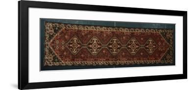 Rugs and Carpets: Iran - Persian Shiraz Carpet--Framed Giclee Print