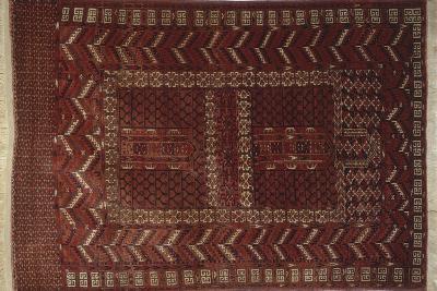 Rugs and Carpets: Russia - Turkestan - Ensi Carpet--Giclee Print