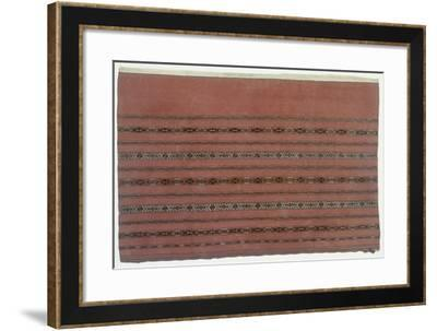 Rugs and Carpets: Russia - Turkestan - Joval Carpet--Framed Giclee Print