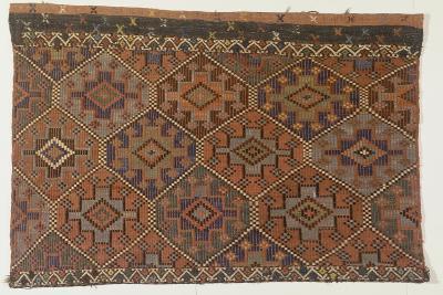 Rugs and Carpets: Turkey - Anatolia. Kilim Carpet--Giclee Print