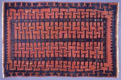 Rugs and Carpets: Turkey - Anatolia - Kilim Carpet--Giclee Print
