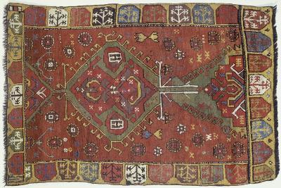 Rugs and Carpets: Turkey - Anatolia - Konya Carpet--Giclee Print