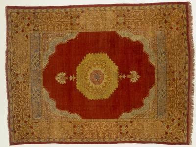 Rugs and Carpets: Turkey - Kula Medallion Carpet--Giclee Print