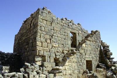 Ruined Building, Umm El-Jimal, Jordan-Vivienne Sharp-Photographic Print
