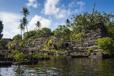 Ruined City of Nan Madol-Michael Runkel-Photographic Print