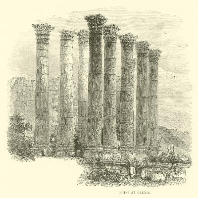 Ruins at Gerasa--Giclee Print