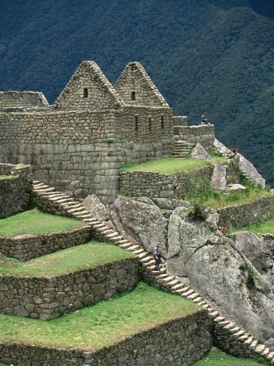 Ruins at Machu Picchu-Dave G^ Houser-Photographic Print