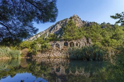 Ruins in Olympos, Antalya, Turkey-Ali Kabas-Photographic Print
