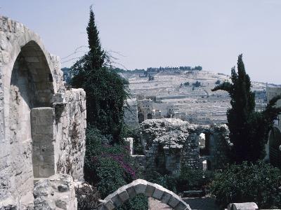 Ruins - Israel, Jerusalem,--Photographic Print