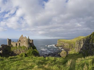 Ruins of 13th Century Medieval Dunluce Castle-Rich Reid-Photographic Print
