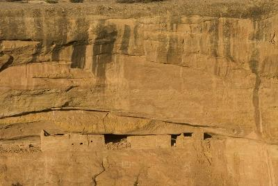 Ruins of a Cliff Dwelling, Sunset House, in Mesa Verde National Park-Phil Schermeister-Photographic Print