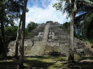 Ruins of a Temple, High Temple, Lamanai, Belize