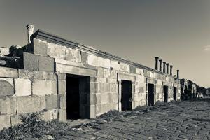 Ruins of ancient Jewish and Roman city, Umm Qais, Gadara, Jordan