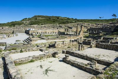 Ruins of Ancient Kameiros, Kalavarda, Rhodes, Dodecanese Islands, Greek Islands, Greece-Michael Runkel-Photographic Print