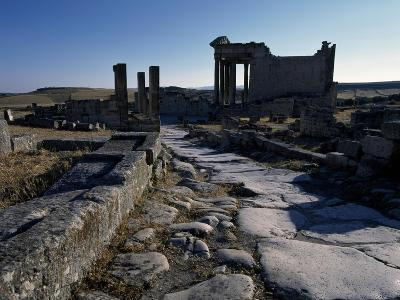 Ruins of Ancient Roman City--Giclee Print