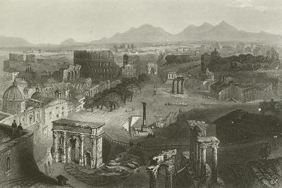 Ruins of Ancient Rome--Giclee Print