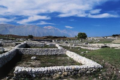 Ruins of Archaeological Site of Juvanum, Montenerodomo, Abruzzo, Italy, 3rd-4th Century BC--Giclee Print
