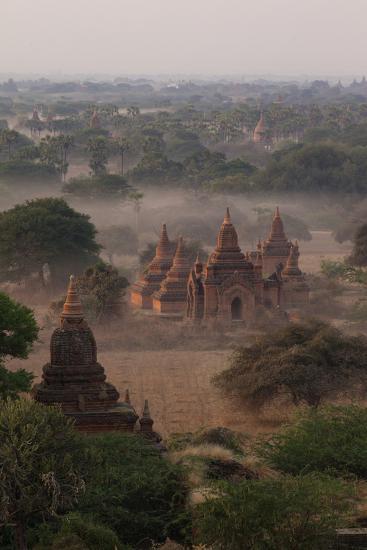 Ruins of Bagan (Pagan), Myanmar (Burma), Asia-Colin Brynn-Photographic Print
