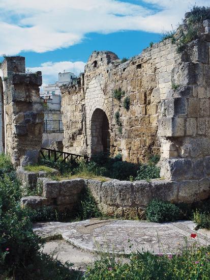 Ruins of Baptistery of San Giovanni, 4th-5th Century, Canosa, Apulia, Italy--Photographic Print
