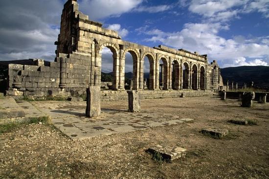 Ruins of Basilica--Giclee Print