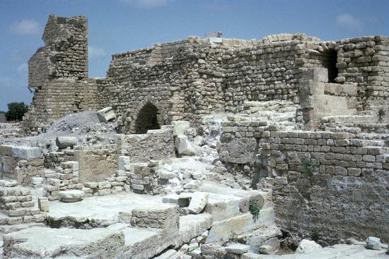 Ruins of Caesarea-Unknown-Photographic Print