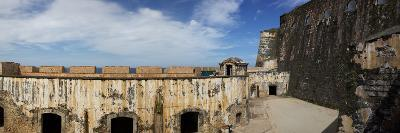 Ruins of Castillo San Felipe Del Morro, Old San Juan, San Juan, Puerto Rico, USA--Photographic Print