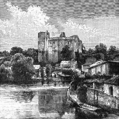 Ruins of Château De Clisson, France, 1898-Barbant-Giclee Print