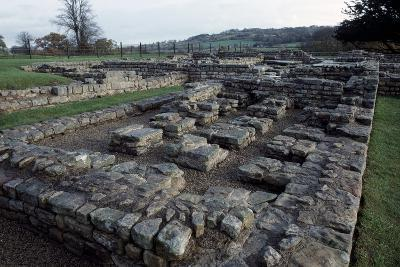 Ruins of Chesters Roman Fort, Hadrian's Wall--Photographic Print