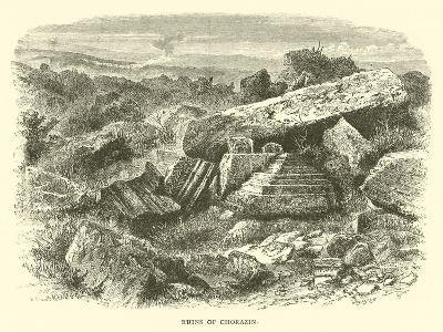 Ruins of Chorazin--Giclee Print