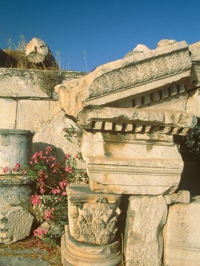 Ruins of Elefsina, Attica, Greece-Rainer Hackenberg-Photographic Print
