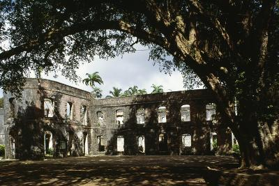 Ruins of Farley Hill House, Barbados--Photographic Print