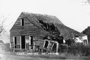 Ruins of First Capitol of Texas