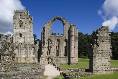 Ruins of Fountains Abbey--Photographic Print