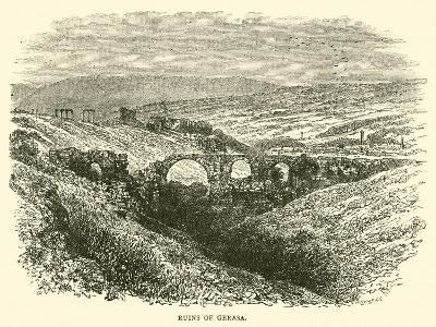 Ruins of Gerasa--Giclee Print