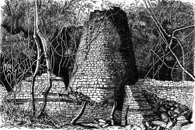 Ruins of Great Zimbabwe, Africa, 1892--Giclee Print