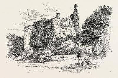 Ruins of Harewood Castle--Giclee Print