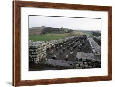 Ruins of Housesteads Roman Fort, Hadrian's Wall--Framed Photographic Print