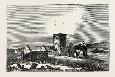 Ruins of Iona, a Small Island in the Inner Hebrides Off the Western Coast of Scotland. Uk--Giclee Print