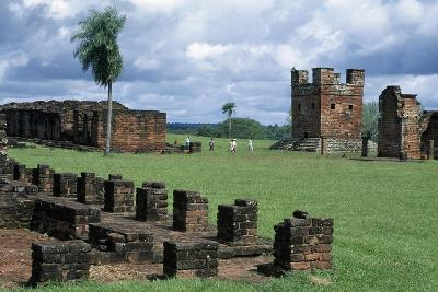 Ruins of Jesuit Missions of Most Holy Trinity of Parana and Jesus of Tavarangue--Giclee Print