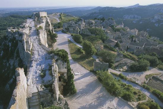 Ruins of Les Baux-De-Provence Castle, Provence-Alpes-Cote D'Azur, France--Photographic Print