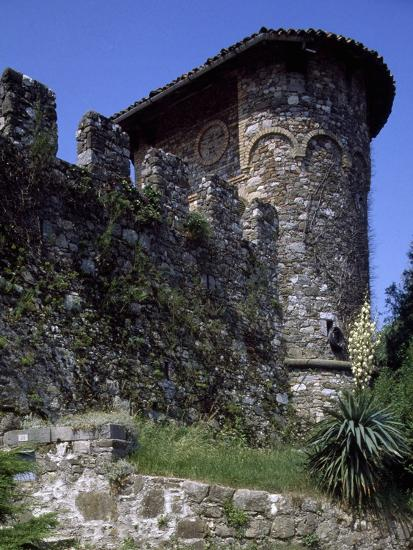 Ruins of Medieval Castle of Tricesimo, Udine, Friuli-Venezia Giulia, Italy, 13th Century--Giclee Print