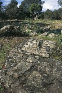 Ruins of Nuragic Village of Serra Orrios, 16th-8th Century Bc, Near Dorgali, Sardinia, Italy